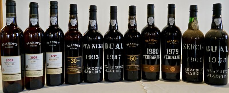 Blandy's wine line-up