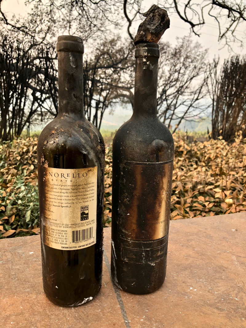 Signorello wines after the fire
