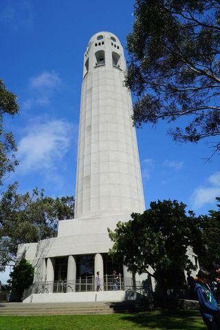 Coit Tower vertical 2