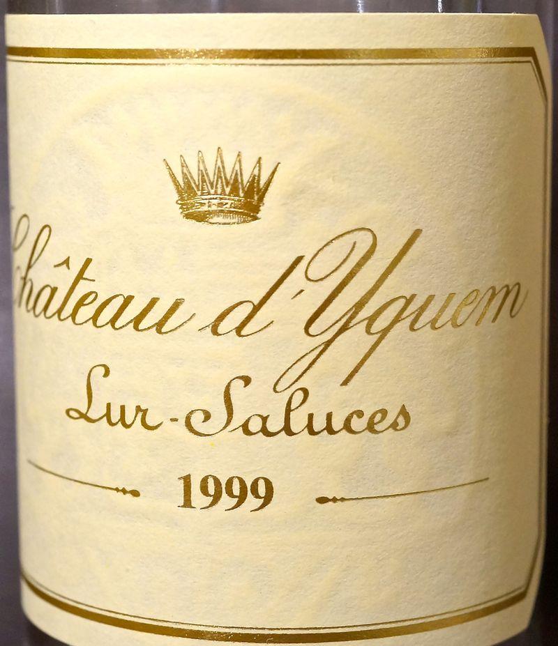 CU Chateau d'Yquem label