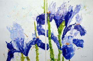 Lisa flowers purple 1