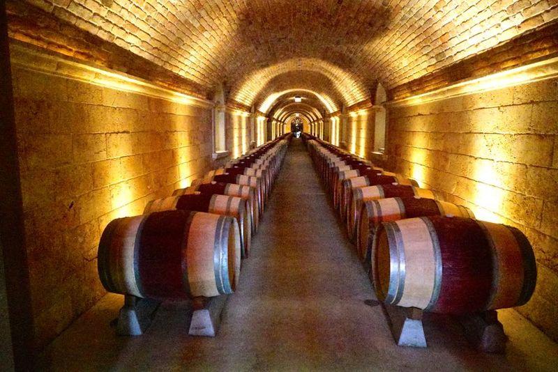 Barrel Aging Tunnel