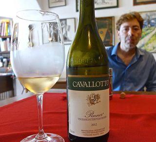 Winemaker Giuseppe and Pinner CU