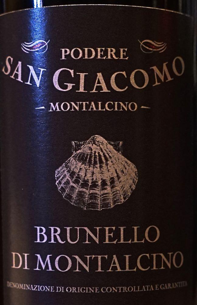 Podere Brunello Label CU