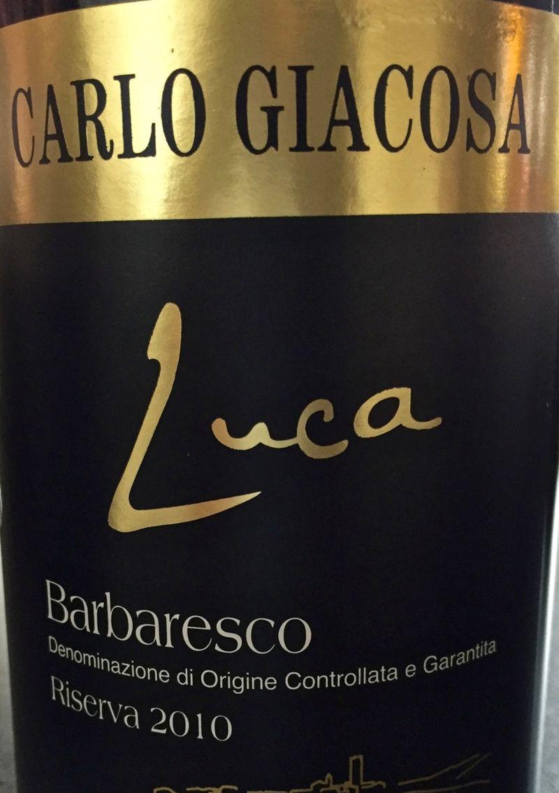 Carlo Giacosa Barbaresco, Luca