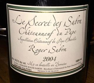 Cu Label Secret des Sabon