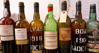 Emptied bottles 1