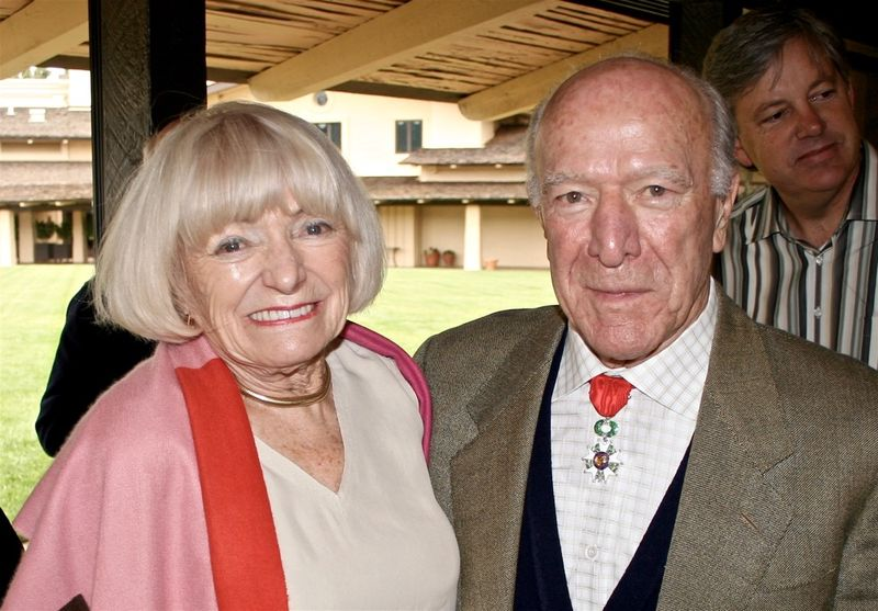 Margrit & Robert Mondavi