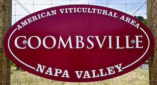 CU Coombsville sign