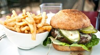 Burger at G&G