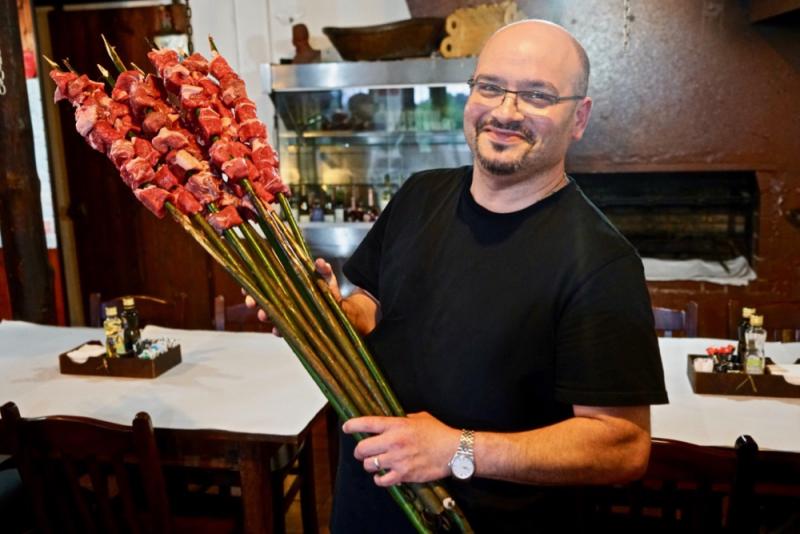 Restaurant) Casa de Pasto Justiniano  Chao da Ribeira (town)