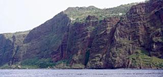 Faja dos Padres from ocean
