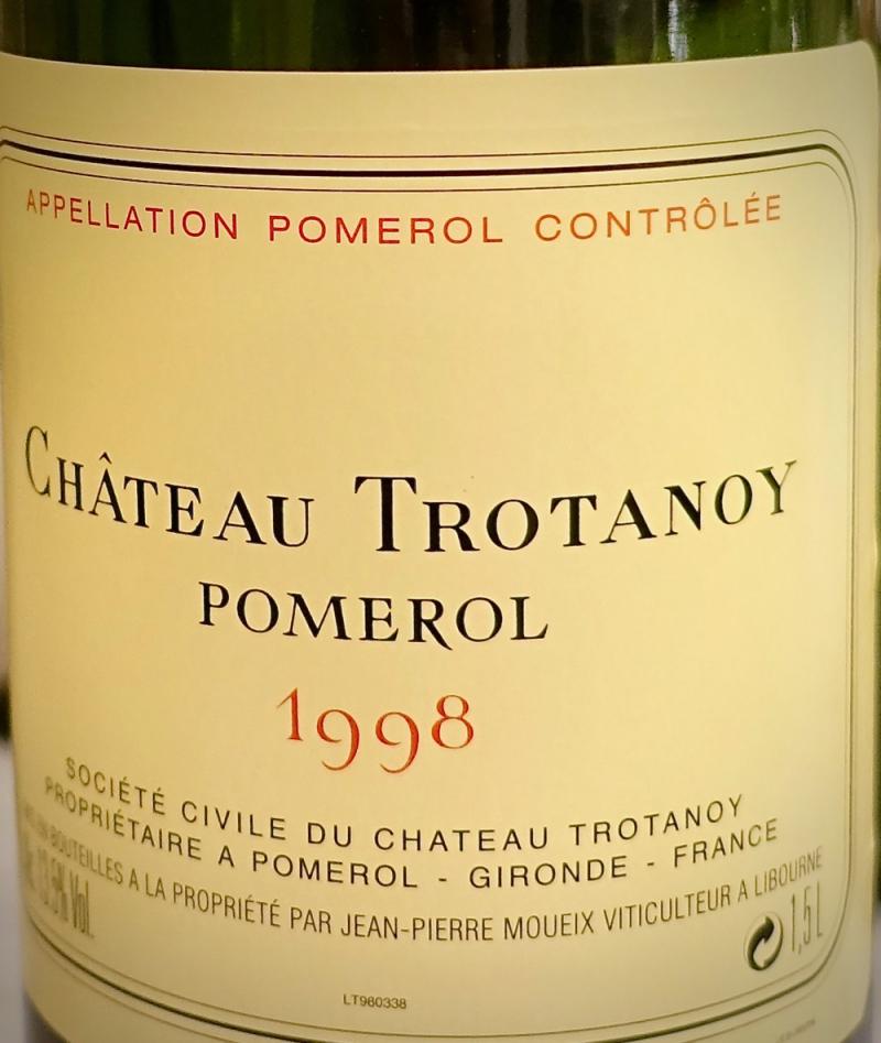 Chateau Trotanoy CU label