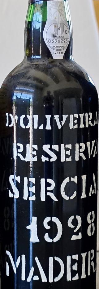 D'Oliveiras 1928 Sercial