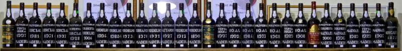 D'Oliveiras tasting line-up