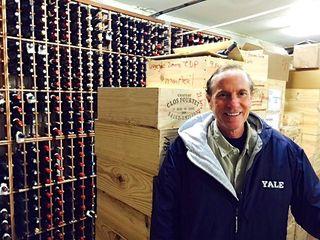 Facciani – Gerry in his wine cellar