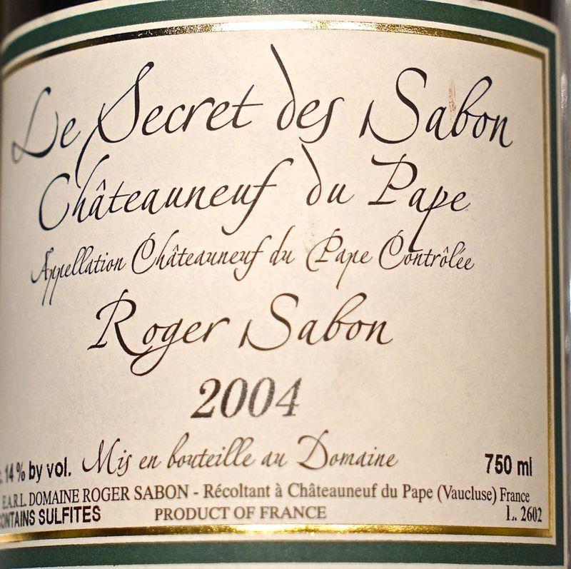CU Le Secret des Sabon label