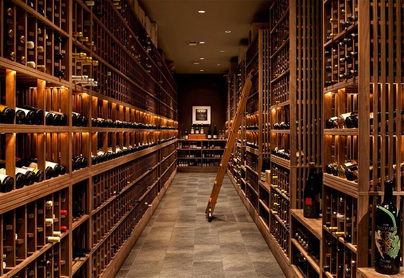 Quince wine cellar