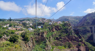 Aerial Tram over Funchal
