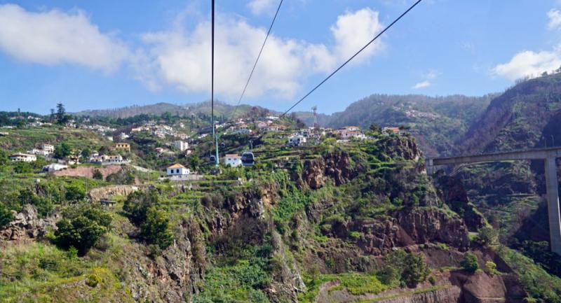 Aerial Tram over Funchal