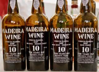 Madeira wines at J. Faria & Filhos