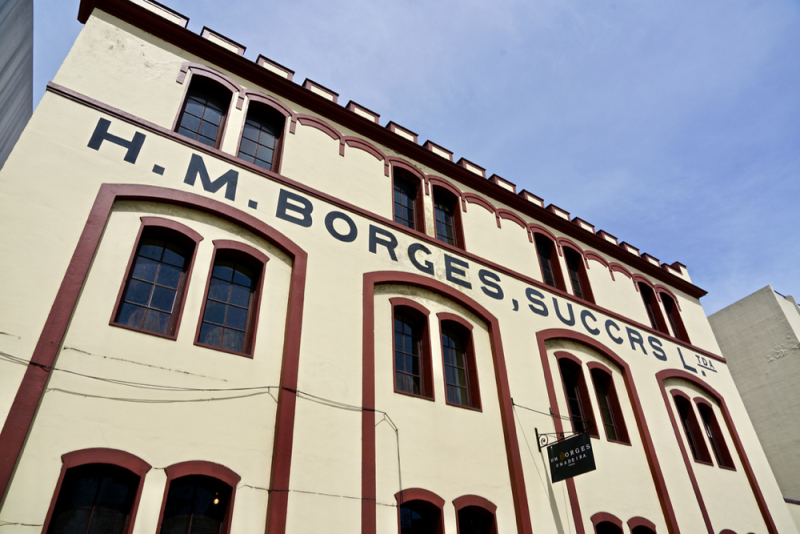 Outside of Borges