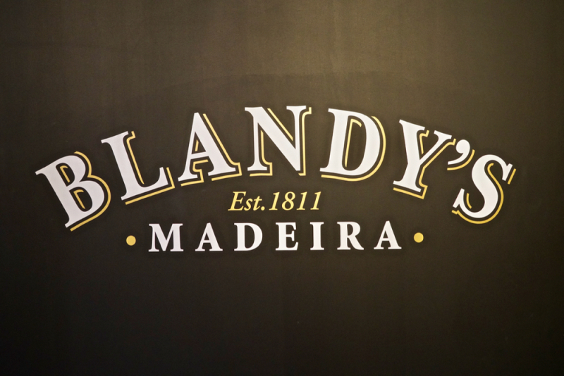 Blandy's sign