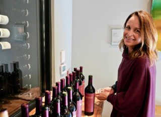 Jennifer Williams at the tasting