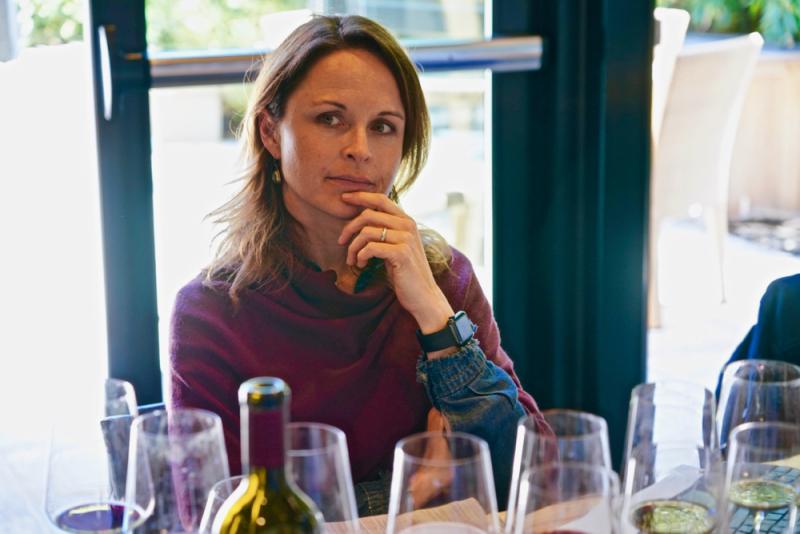 Jennifer Williams in a pensive moment