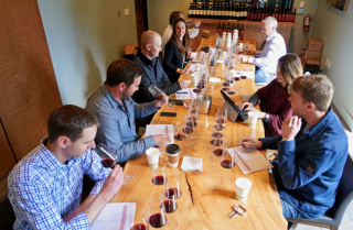 Pahlmeyer staff tasting 30 vintages