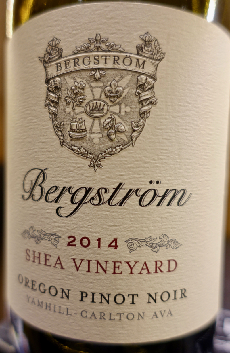 2014 Bergstrom Shea Vineyard