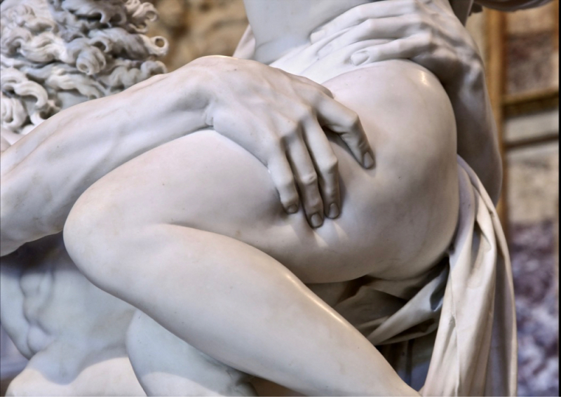 The Rape of Proserpina CU detail