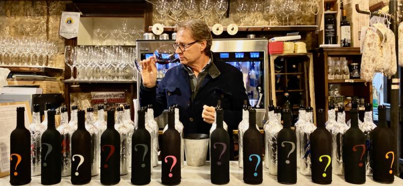 Blind tasting of 2015 Brunellos at Enoteca di Fortezza  Montalcino (1)