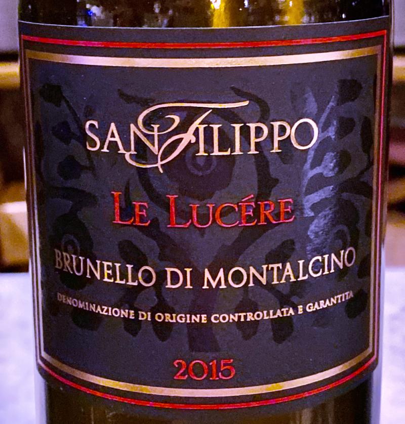 Blind tasting of 2015 Brunellos at Enoteca di Fortezza  Montalcino