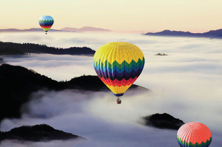 Fog Balloons Napa Valley