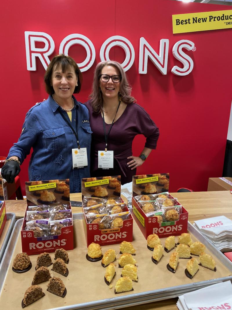 Carol and Jenn at ROONS booth