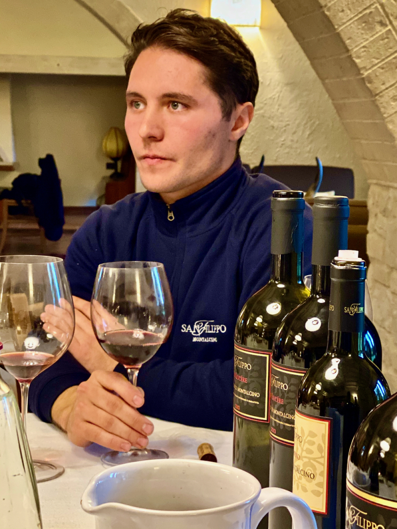 San Filippo winemaker Thomas