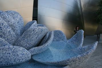 La_delft_blue_fountain